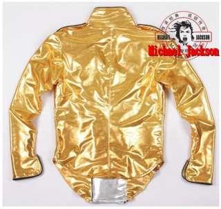 SUPER CLASSIC MICHAEL JACKSON HISTORY TOUR GOLD JACKET