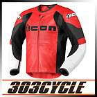 Icon Overlord Textile Motorcycle Riding Jacket   Red items in 303