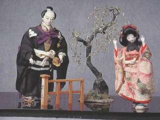 Daruma 17 Hina Doll Japanese Clock Tsuba Imari Ware