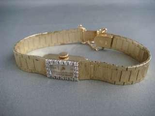 Michelle Brand Ladies Wrist Watch in 14K Yellow Gold
