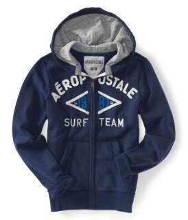 aeropostale aero surf team full zip hoodie