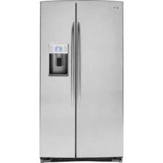 25.5 cu. ft. 36 in. Wide Side by Side Refrigerator in Stainless Steel