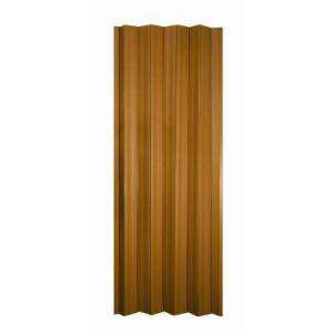 in. x 80 in. Vinyl Cherry Accordion Door HOK3680CH at The Home Depot