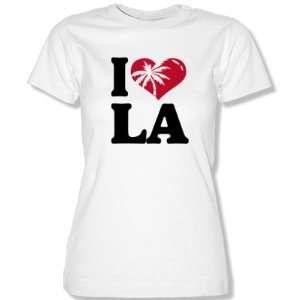 LOVE LA  Damen T Shirt Gr. XS bis XL  Sport & Freizeit