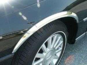 LINCOLN OWN CAR 1998 2010 CHROME WHEEL WELL MOLDING |