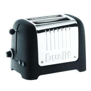 Dualit Lite Commercial Toaster 2  Slice Toaster Black Soft Touch 25375