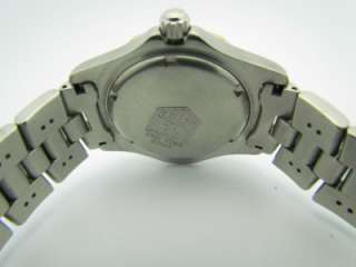 Tag Heuer Exclusive WN1154  0 18K & Stainless Steel Two Tone Bezel