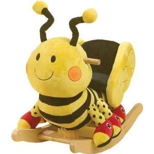 Rockabye 85038 Buzzy Bee Rocker Baby Toddler Rocking Chair