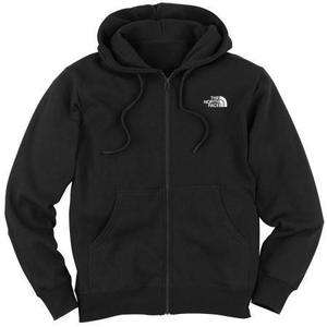 The North Face Mens Logo Full Zip Hoodie Sweatshirt jacket Black M 2XL