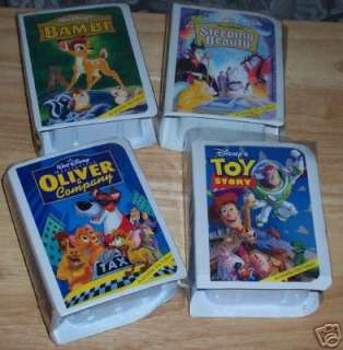 LOT /4 1992 DISNEY COLLECTION MOVIE FIGURINES