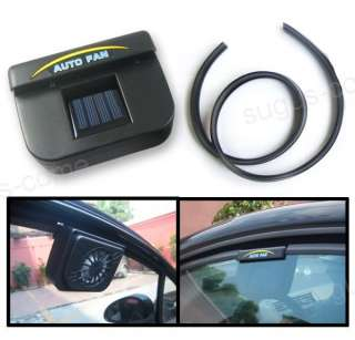 Solar Power Car Auto Air Conditioning Cool Cooler Fan