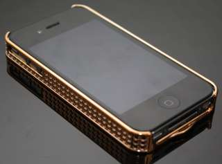 Apple iPhone 4 G Strass Luxus Bling Case Tasche Hülle !