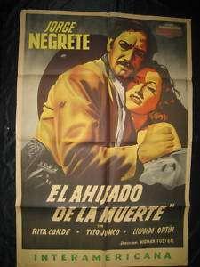 JORGE NEGRETE EL AHIJADO DE LA MUERTE MOVIE POSTER 46