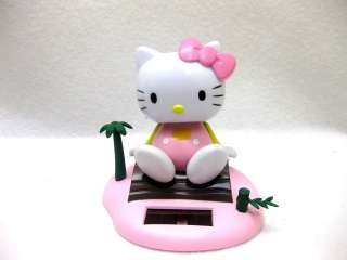 Hello Kitty Flip Flap Solar Powered Moving Head & Feet