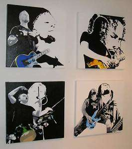 Metallica Pop Art Band Bilder James Hetfield Bild