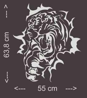 A301 Tribal Tiger Autoaufkleber Auto Aufkleber Sticker