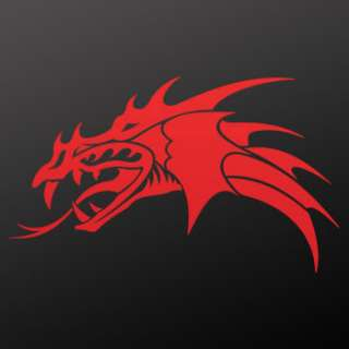 Tribal tattoo design Decal Sticker Dragon Art WRSX9