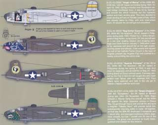 Zotz Decals 1/32 NORTH AMERICAN B 25J MITCHELL AT WAR Part 1