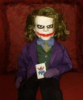 Haunted Ventriloquist Doll EYES FOLLOW YOU Dummy Dark Joker Knight