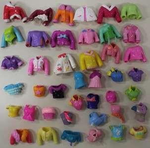 525+ Polly Pocket LOT Girl Boy Dolls Clothes Cars Magic Fashion Stage