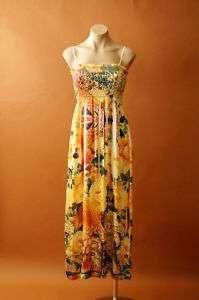 PAISLEYS Long Print Maxi Full length Beach Party Dress S M L