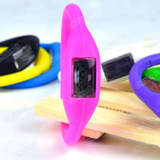 Cute Ion Jelly Silicone Rubber Sports Wrist Watch Wristwatch 7 Colors