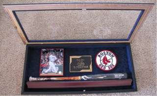 Boston Red Sox David Ortiz 2009 Game Used Bat in Shadow Box Steiner