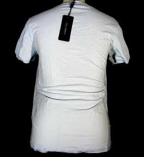 DOLCE GABBANA pure stretch cotton t shirt gray D&G NWT