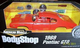ERTL 1:18 1969 Pontiac GTO Judge Carousel Orange KIT