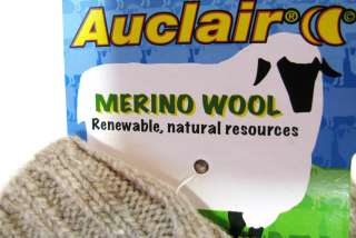 NEW Mens Merino Wool Gloves Auclair (VARIETY of SIZES) Color Camel