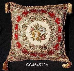 Aubusson Style Decorative Cushion/Pillow Cover 12A