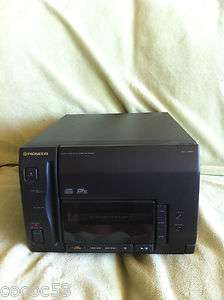 PIONEER 50+1 disc file type cd player model number pd p840f k