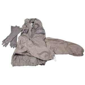 NVA Gummianzug, Jacke, Hose, mit Stiefel, Handschuhe, oliv