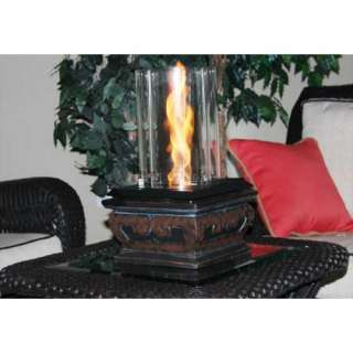 Indoor outdoor table top,patio,Venturi flame lamp fire pit,new,swirl