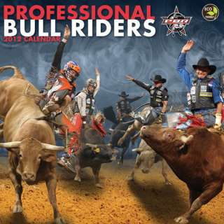 Professional Bull Riders 2012 Calendar   NEW