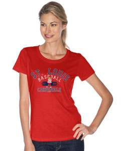St. Louis Cardinals MLB Womens Cotton T Shirt (HOT!) 790755449116