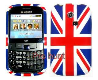 Uk Flag Union Jack Flower Silicone Gel Case Cover For Samsung Ch@t335