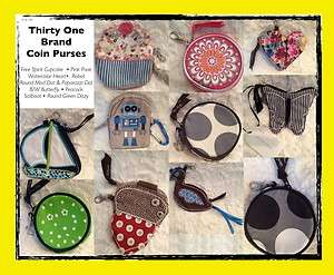 Thirty One Coin Purses, NIP & NOP Retired Discontinued LOTs to choose