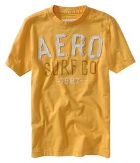 Aeropostale mens AERO SURF CO t shirt |
