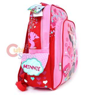 Disney Minnie Mouse Backpack School Bag 16L Pink Sugar