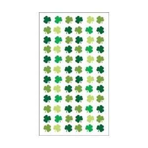 Stickers Four Leaf Clover Repeat; 6 Items/Order Arts, Crafts & Sewing