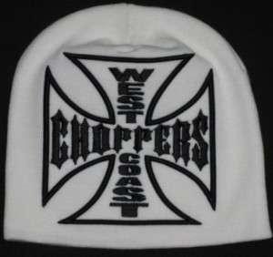 bonnet west coast choppers blanc hot rod kustom harley davidson
