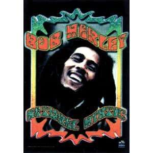 Bob Marley   Poster Flags Home & Kitchen