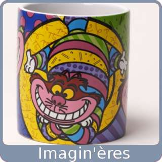 Disney   Romero Britto   Mug Cheshire Cat   Disney   Enesco