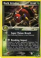 Carte pokemon MIGALOS obscur 70 HP NEUVE port GRATUIT