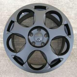 18 GALLARDO STYLE BLACK WHEELS+TYRES VW T5 VAN