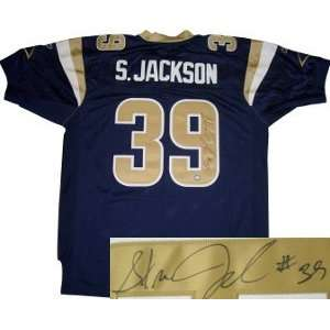 Steven Jackson Autographed Jersey   Authentic: Everything