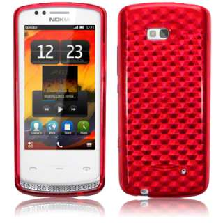 TPU GEL CASE / COVER / SKIN FOR NOKIA 700   RED