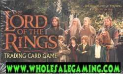 LOTR Lord Rings CCG Fellowship of the Ring Booster Box