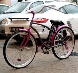 Bicicletta Donna Custom Beach Harley Davidson Chopper Cruiser Bici